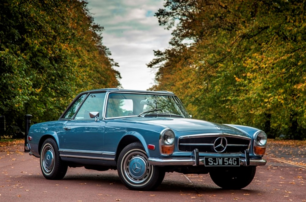 Lot 130 - 1969   Mercedes-Benz 280 SL Pagoda