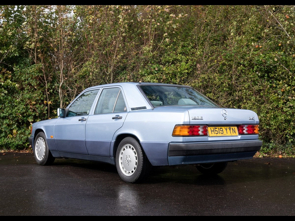 Lot 108 - 1991 Mercedes-Benz 190 E (2.6 litre)