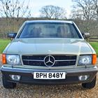 Ref 43 1983 Mercedes Benz 380 SEC Coupe -
