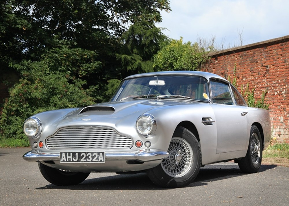 ref 33 1959 aston martin db4 classic sports car auctioneers. Black Bedroom Furniture Sets. Home Design Ideas