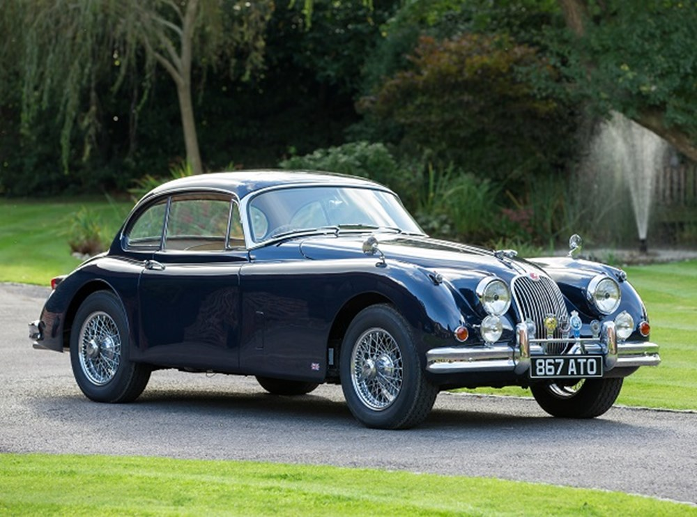 Lot 170 - 1957 Jaguar XK150 Fixedhead Coupé
