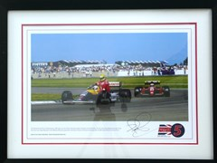 Navigate to Taxi for Senna print