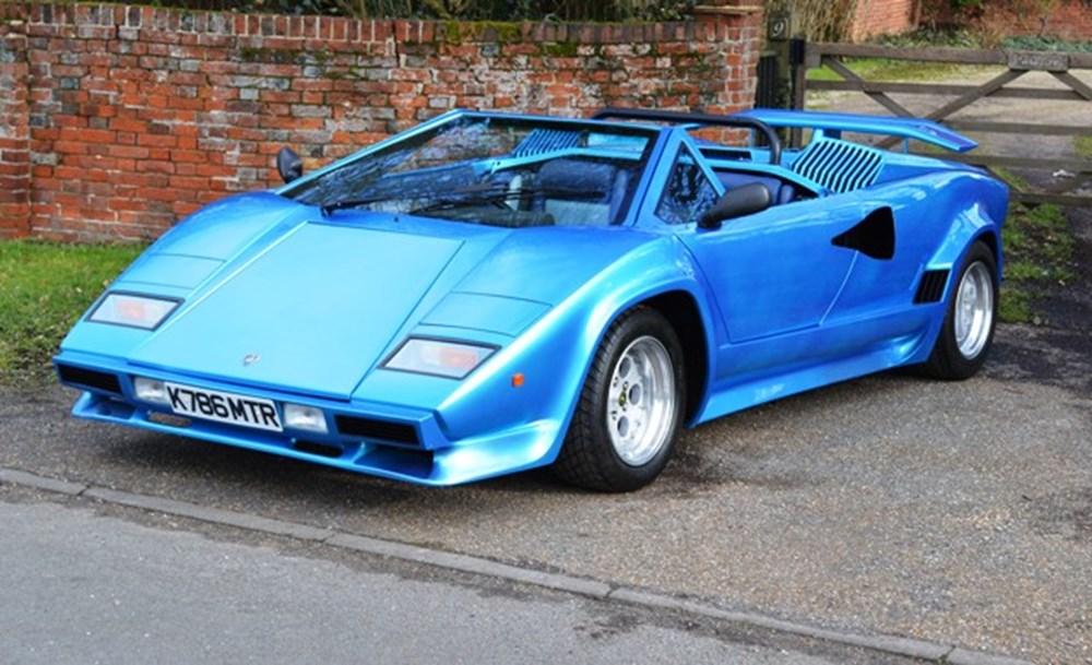 Lot 307 - 1993 Lamborghini Countach Recreation by ABS