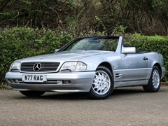 Navigate to Lot 217 - 1996 Mercedes-Benz SL 320 Roadster