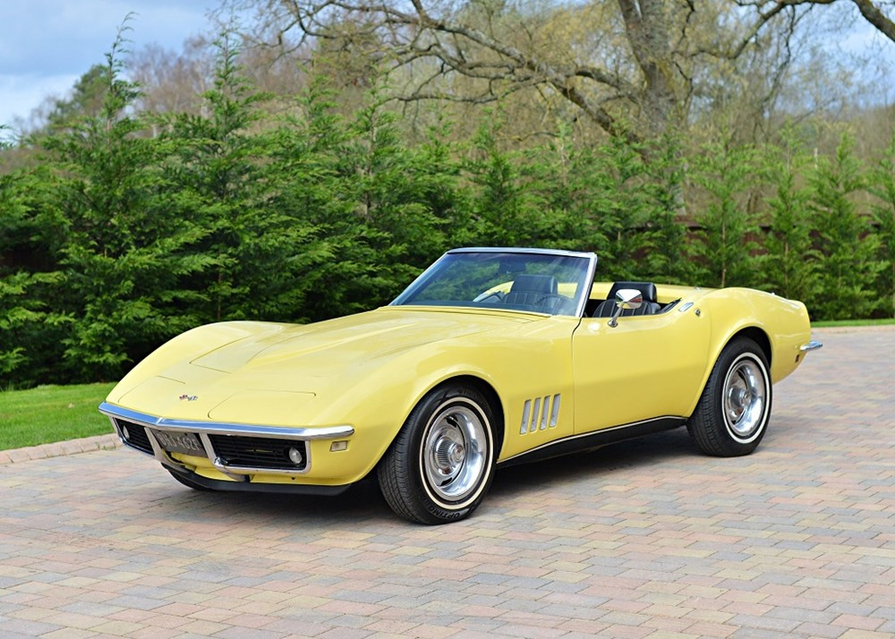Lot 133 - 1968 Chevrolet Corvette C3 Roadster