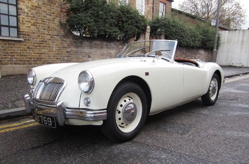 Lot 189 - 1957 MG A Roadster