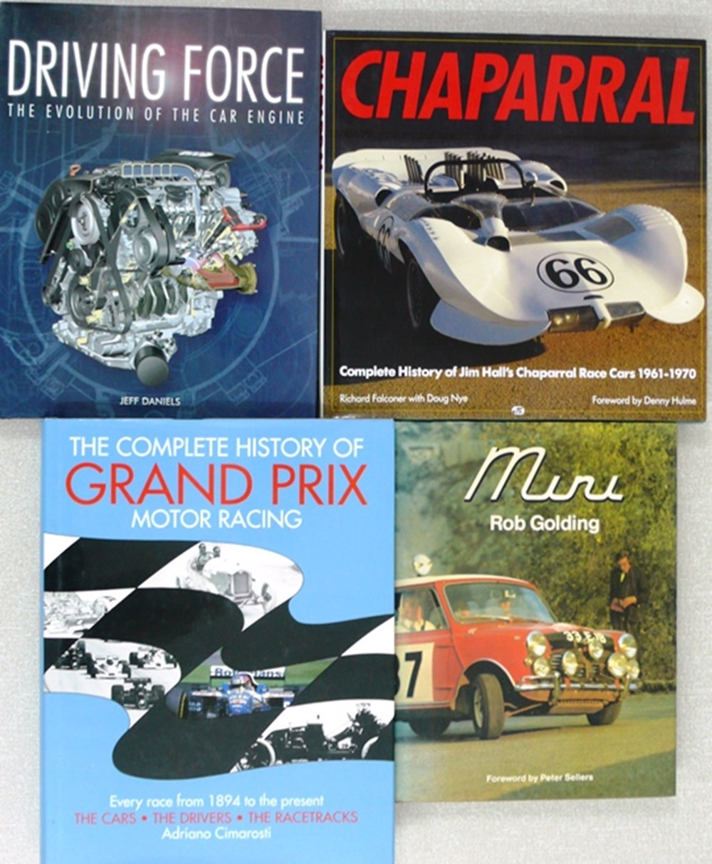 Lot 113 - motorsport books