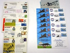 Navigate to Two groups of first day covers