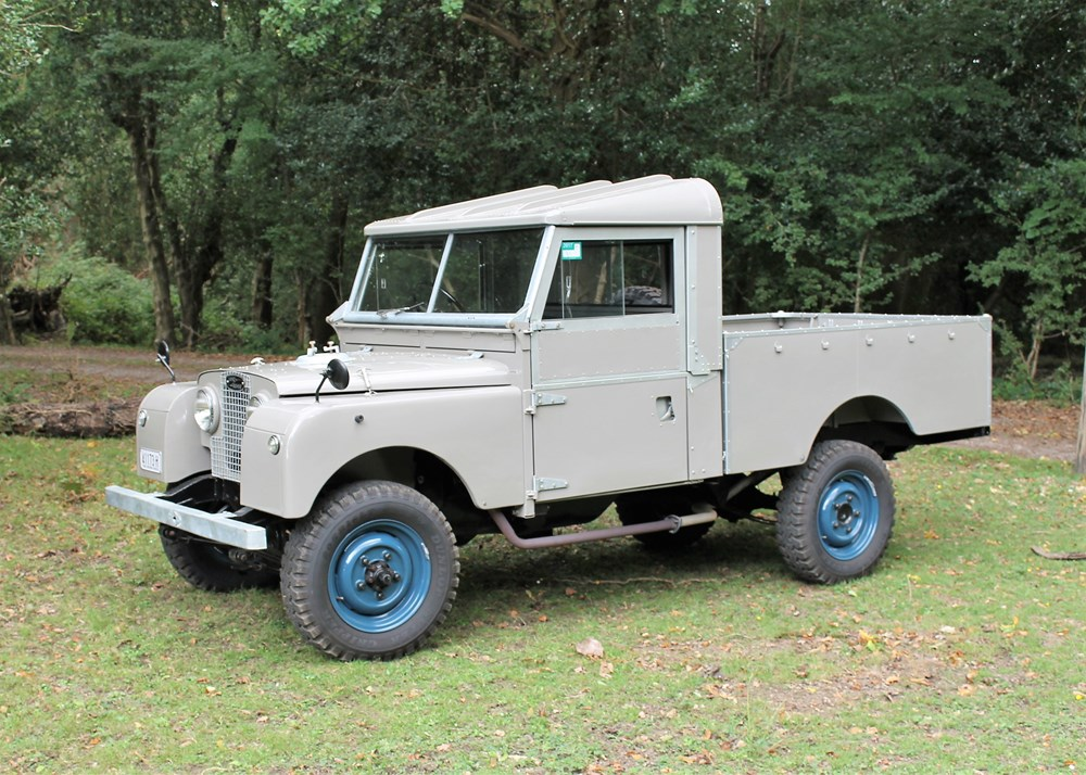 "Lot 236 - 1956 Land Rover Series 1 Pick-up (107"")"