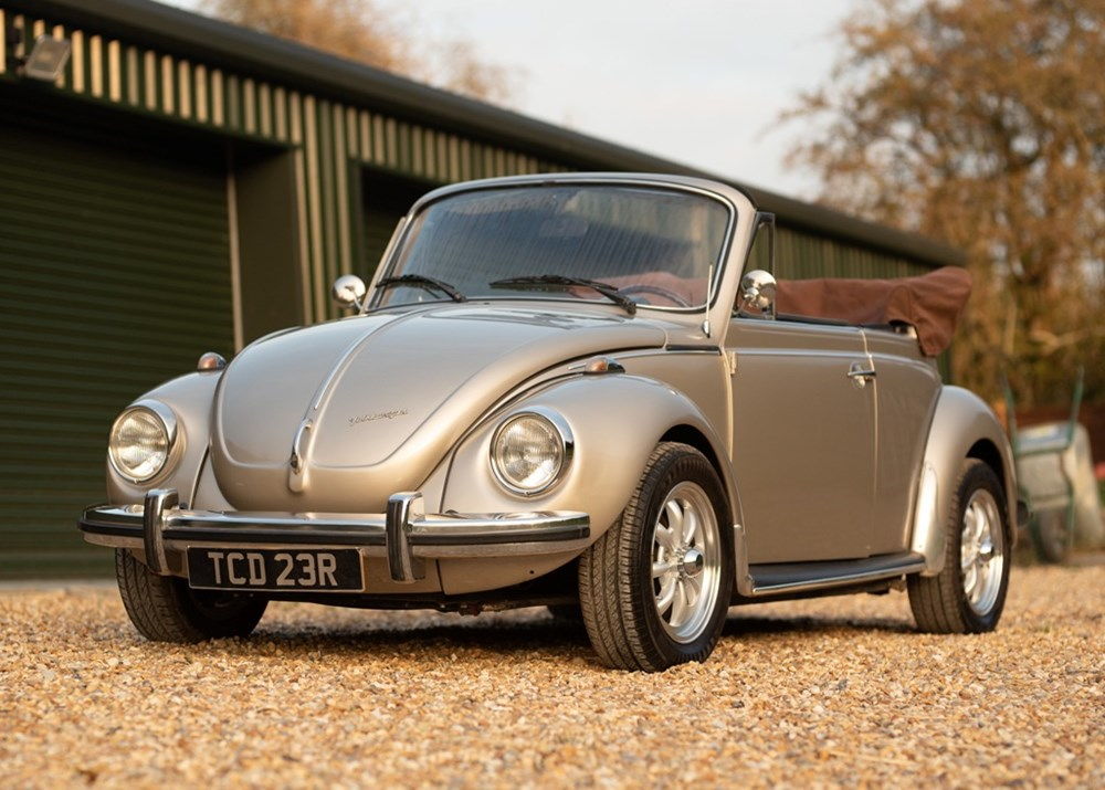 Lot 177 - 1976 Volkswagen Beetle Convertible by Karmann (1650cc)