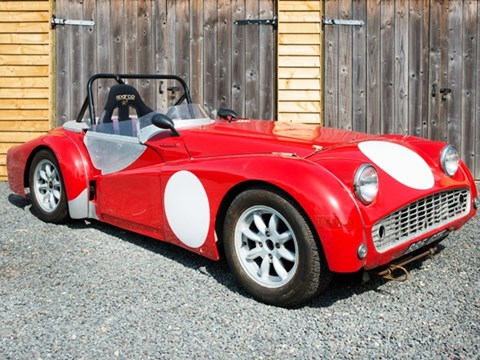 Ref 55 1958 Triumph TR3 Race Specification