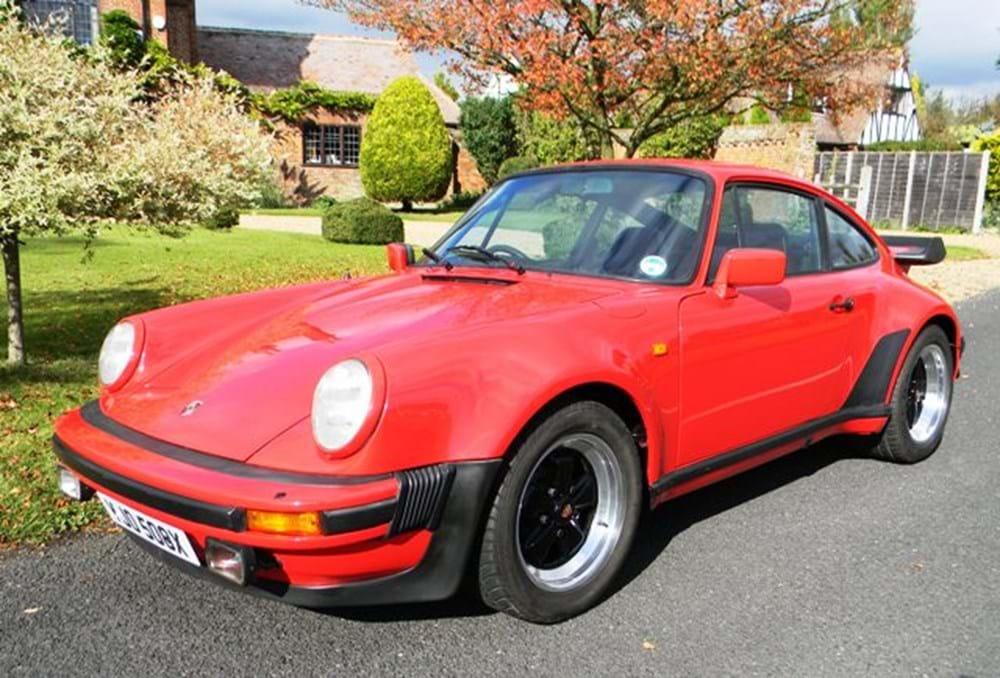 1982 Porsche 911 Turbo Classic Amp Sports Car Auctioneers