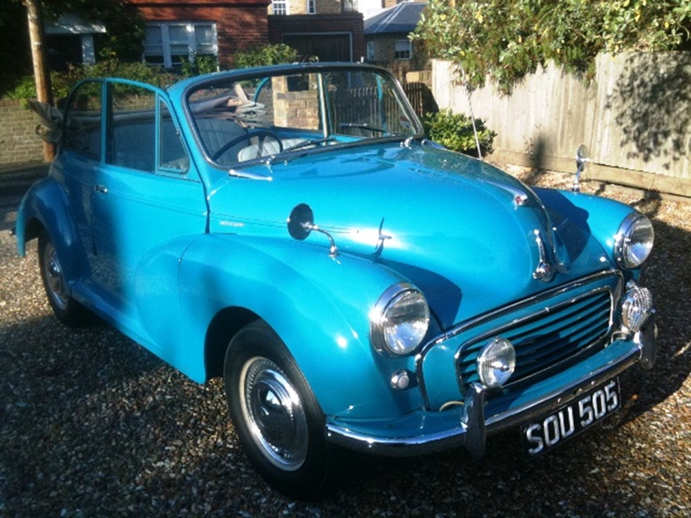 Lot 353 - 1957 Morris Minor Minor 1000 Convertible