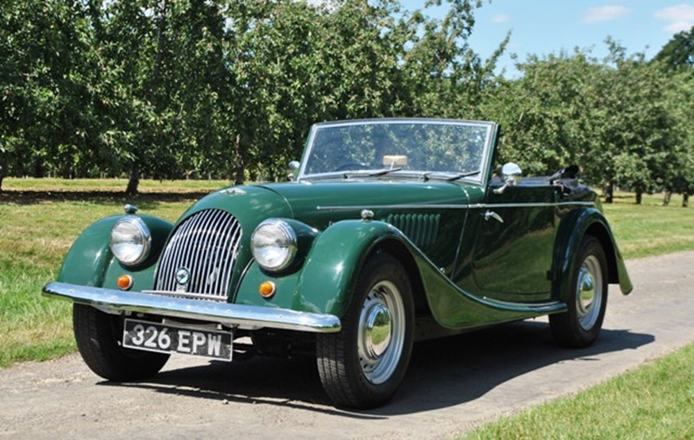 Lot 217 - 1961 Morgan Plus 4 Drophead Coupé