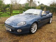 Navigate to Lot 288 - 2000 Aston Martin DB7 Vantage Volante