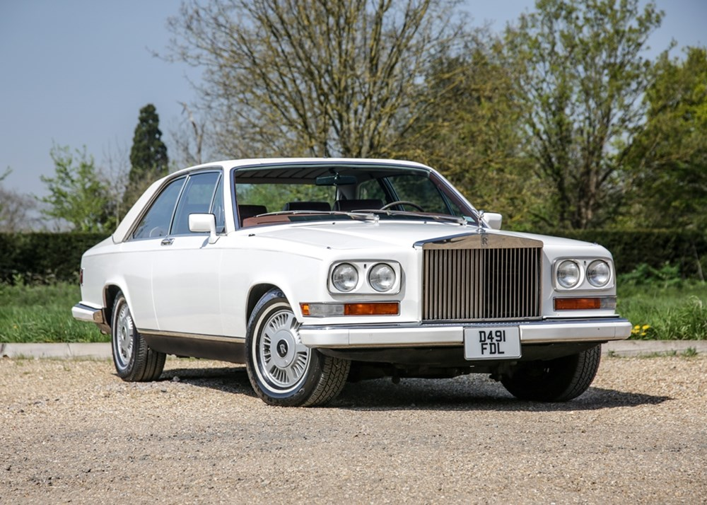 Lot 135 - 1986 Rolls-Royce Camargue by Pininfarina 'Limited Edition' *WITHDRAWN*