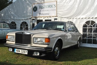 From the buyer of a Rolls-Royce Silver Spur