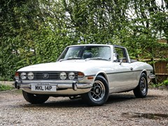 Navigate to Lot 213 - 1976 Triumph Stag