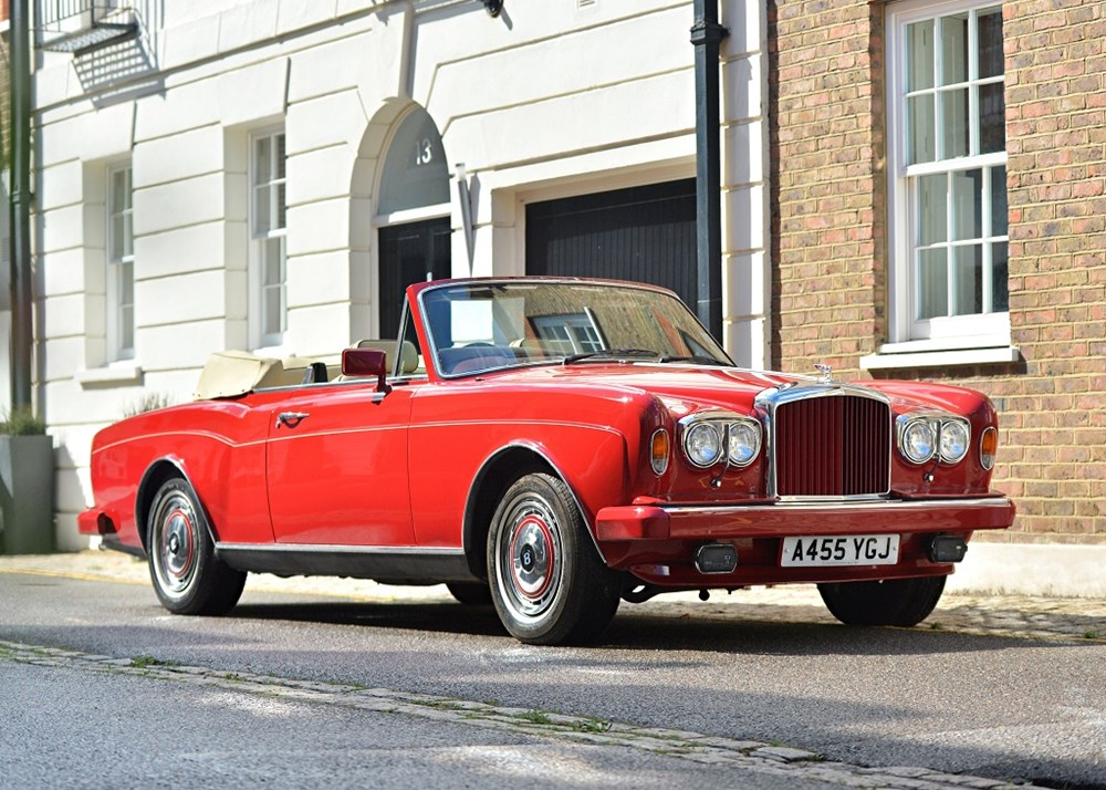 Lot 188 - 1984 Bentley Corniche Convertible