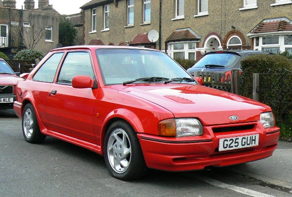ford escort rs turbo classic sports car auctioneers. Black Bedroom Furniture Sets. Home Design Ideas
