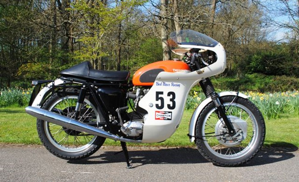 Lot 161 - 1968 13093 T120 Bonneville 650cc 'Ex-Works'