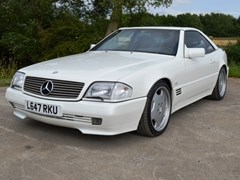 Navigate to Lot 245 - 1994 Mercedes-Benz SL500