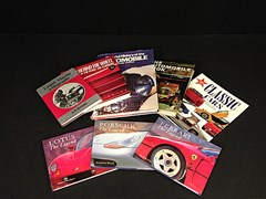 Navigate to Eight motoring books