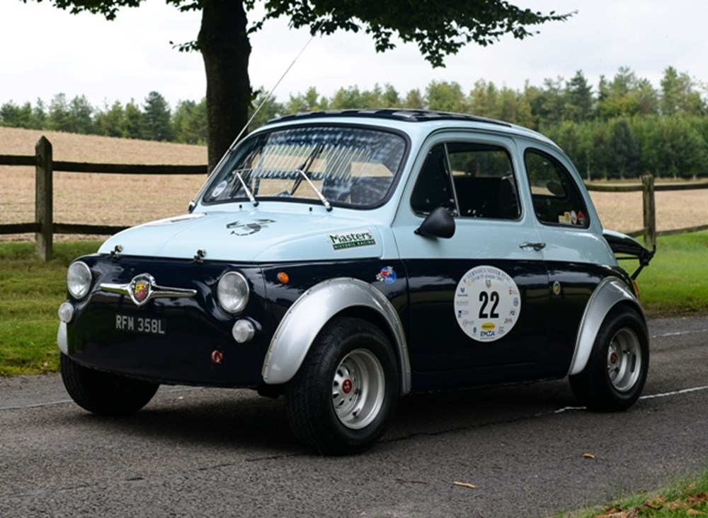 Ref 54 1971 Fiat 500 Abarth 695 Ss Recreation