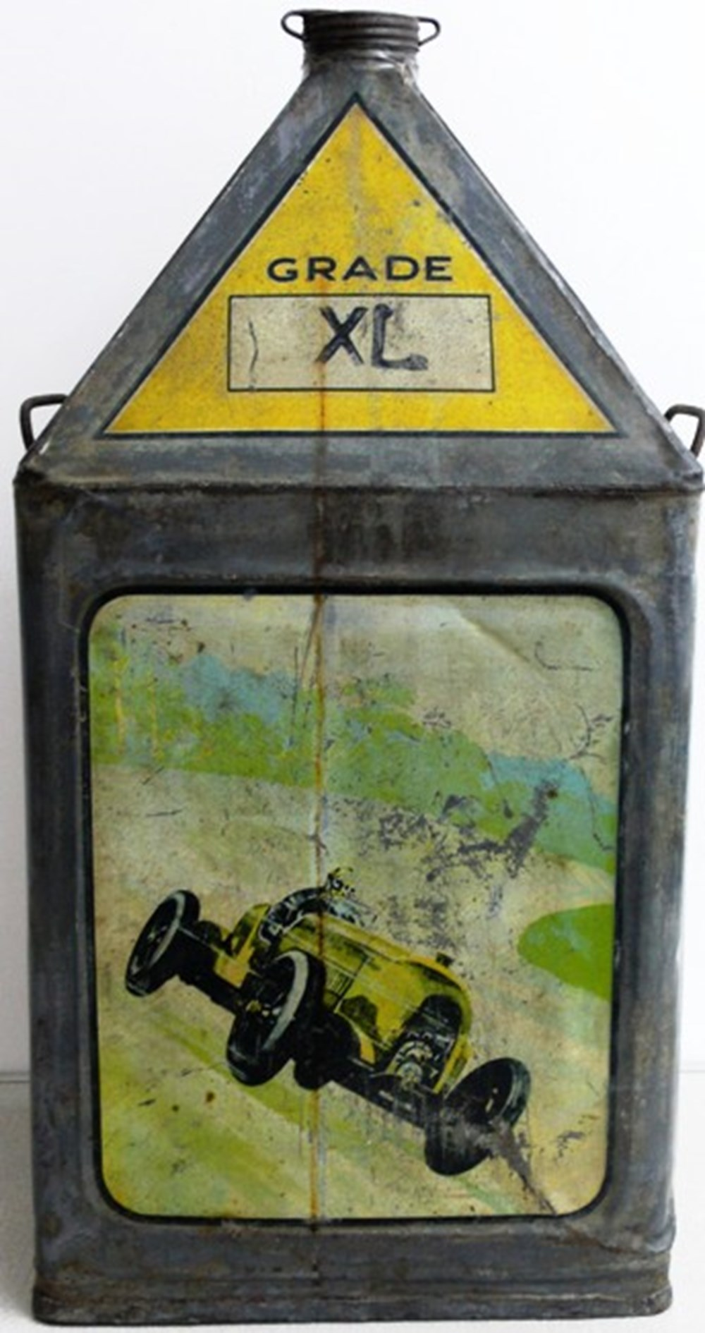 Lot 60 - Gamages pyramid petrol can.