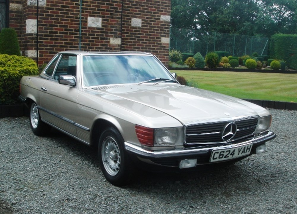 Lot 340 - 1985 Mercedes-Benz 280SL Roadster