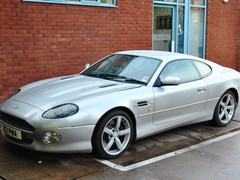 Navigate to Lot 131 - 2003 Aston Martin DB7 GTA