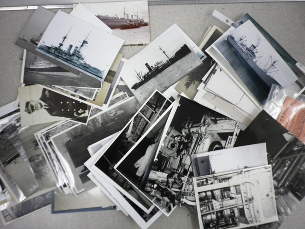 Lot 82 - Black and white photos.
