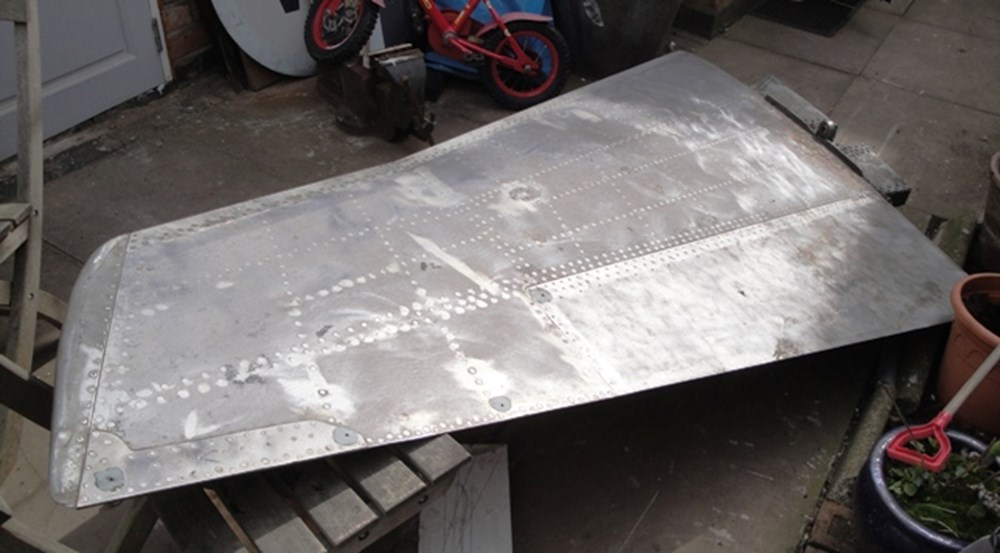 Lot 54 - harrier jump jet rear wing