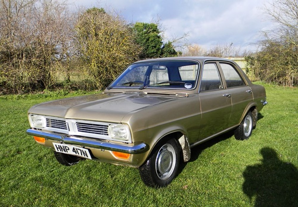 1974 Vauxhall Viva 1256 Deluxe