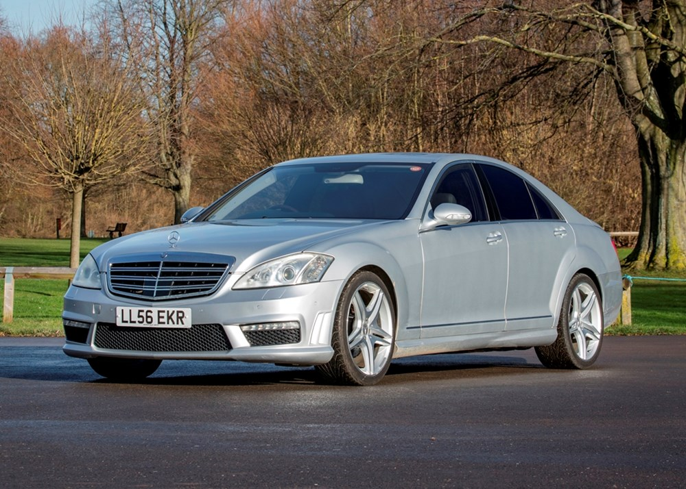 Lot 320 - 2006 Mercedes-Benz S550