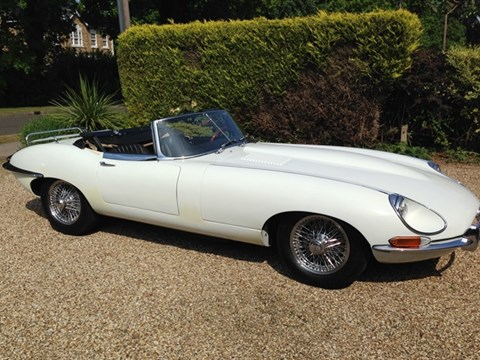 1968 Jaguar E Type Series 1½ Roadster