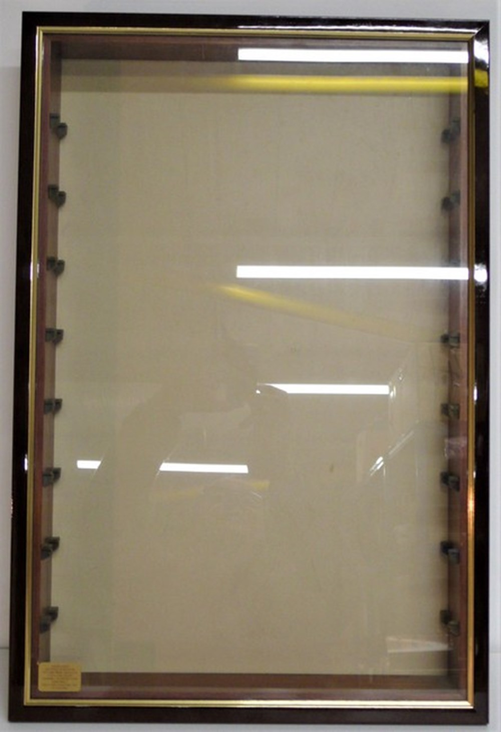 Lot 109 - Display case.