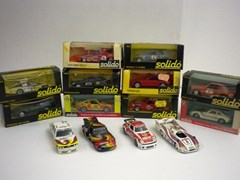 Navigate to 14 Solido die-cast model cars