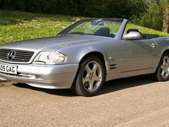Navigate to Lot 265 - 2000 Mercedes-Benz SL320