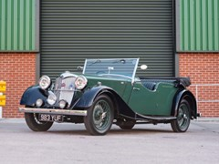 Navigate to Lot 223 - 1938 Riley 12/4 Tourer
