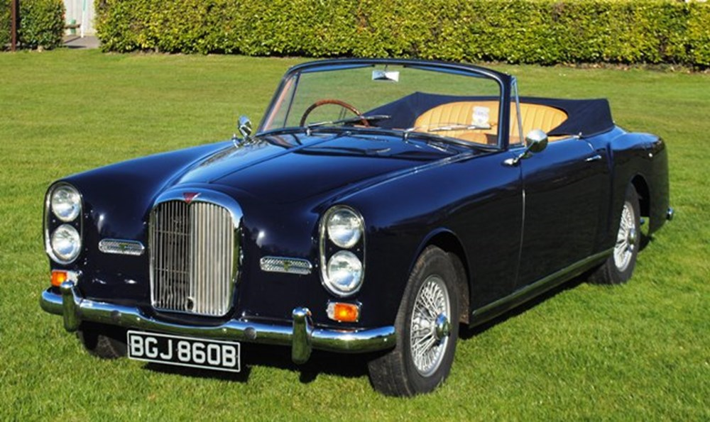 Lot 230 - 1964 Alvis TE21 Drophead Coupé