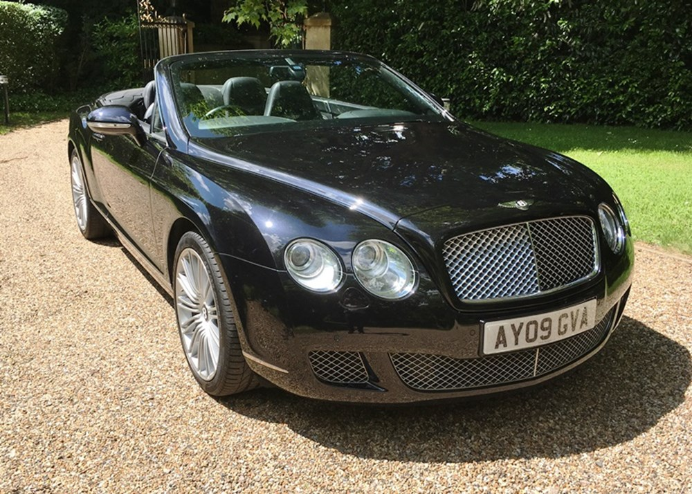 Lot 311 - 2009 Bentley Continental GTC Speed