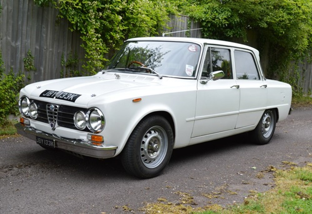 Lot 222 - 1972 Alfa Romeo Giulia Super **WITHDRAWN **