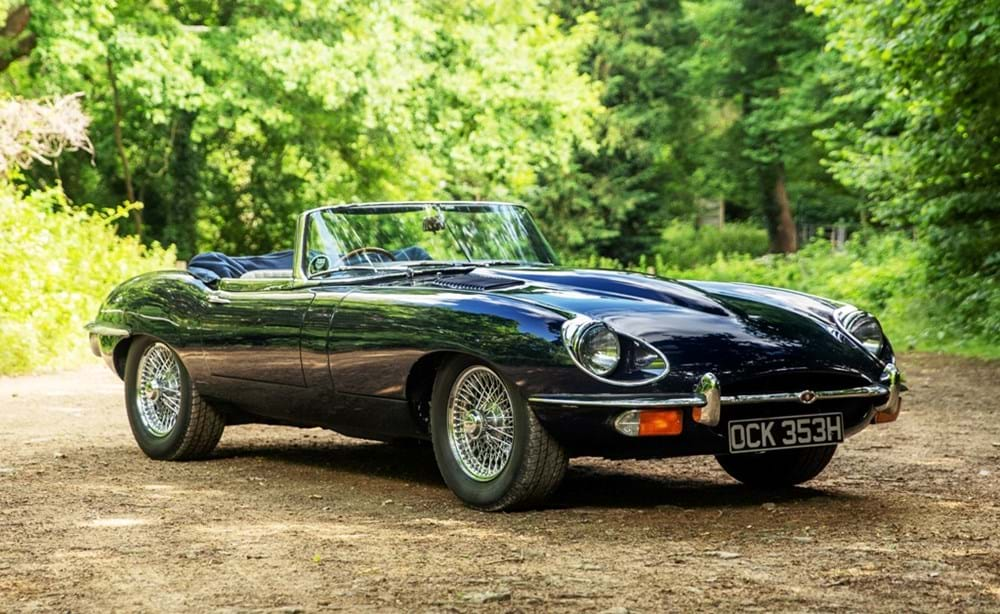 Lot 263 - 1970 Jaguar E-Type Series II Roadster