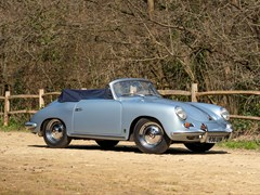 Navigate to Lot 231 - 1962 Porsche 356B T6 Convertible by Reutter