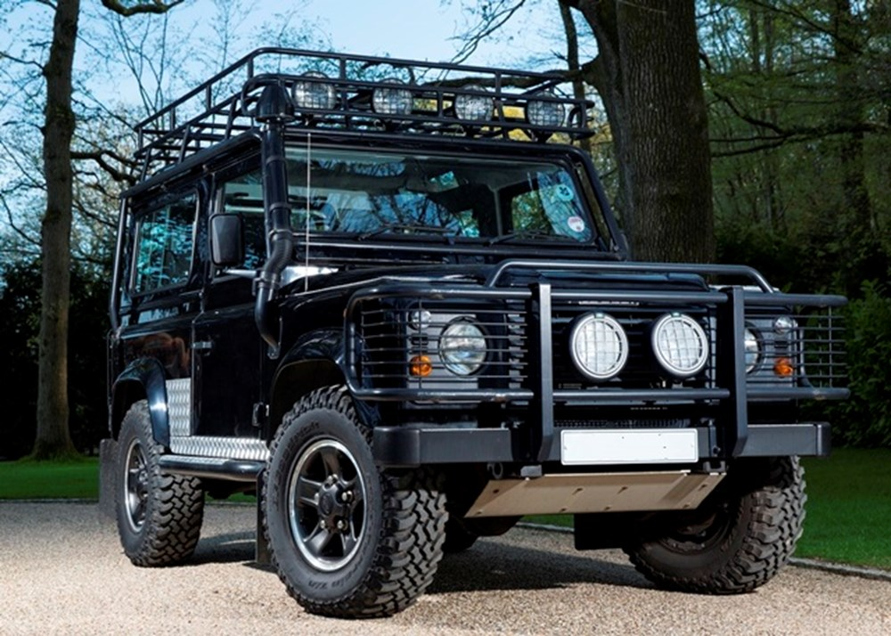 Lot 236 - 2001 Land Rover Defender 90 County Td5