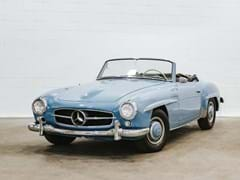Navigate to Lot 176 - 1957 Mercedes-Benz 190SL Roadster
