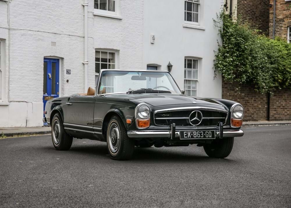 Lot 202 - 1971 Mercedes-Benz 280 SL Pagoda