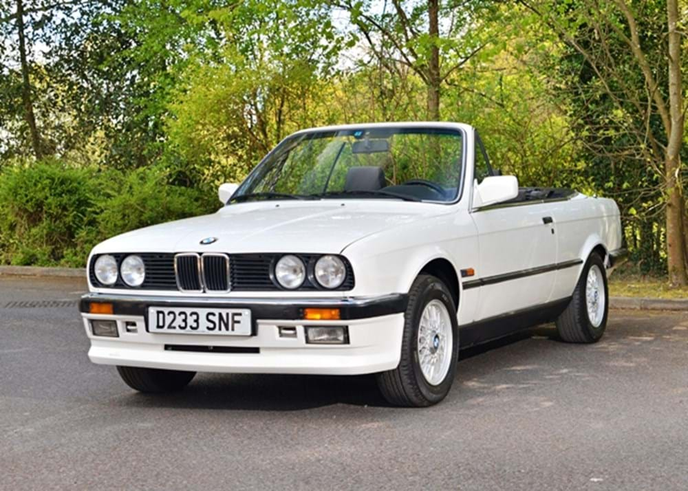 Ref 59 1987 BMW Convertible - Classic & Sports Car Auctioneers