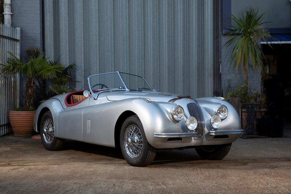 Lot 283 - 1953 Jaguar XK120SE Roadster